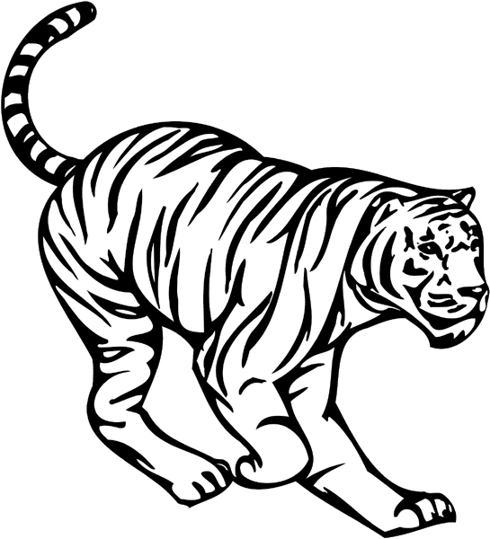 detroit tiger coloring pages - photo#36