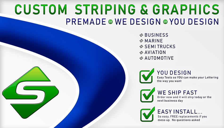 Why You Should Get Custom Striping Designed Online