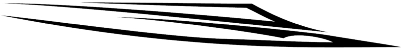 Important Lines stripes graphic decal. 006