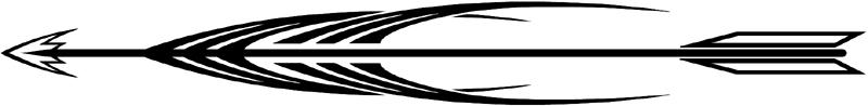 Indian Arrow stripes graphic design. 50-08